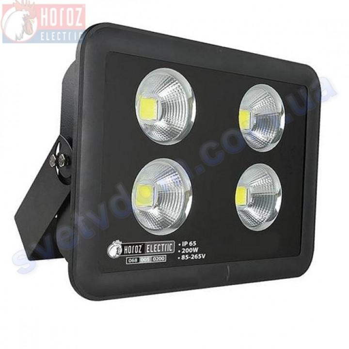 Прожектор світлодіодний LED Horoz Electric PANTER-200 200W 4200K IP65 068-005-0200-N