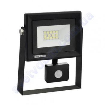 Прожектор светодиодный LED Horoz Electric PARS/S-10 10W 6400K с датчиком движения IP65 068-009-0010