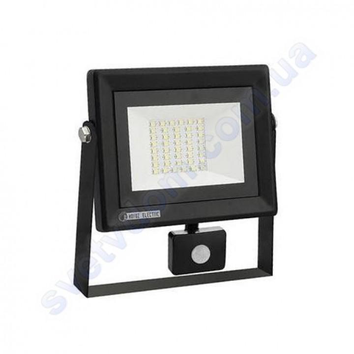 Прожектор світлодіодний LED Horoz Electric PARS/S-30 30W 6400K з датчиком руху IP65 068-009-0030