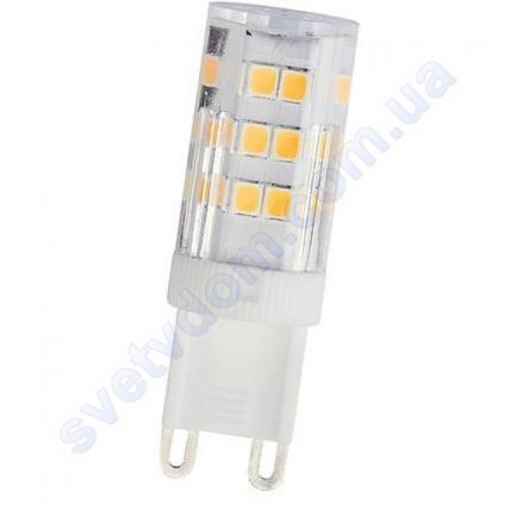 Лампа світлодіодна Horoz Electric LED PETA-4 4W (аналог 30Вт) G9 (220V) 001-045-0004
