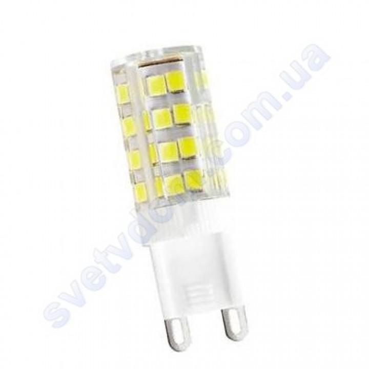 Лампа світлодіодна Horoz Electric LED PETA-6 6W (аналог 50Вт) G9 (220V) 001-045-0006