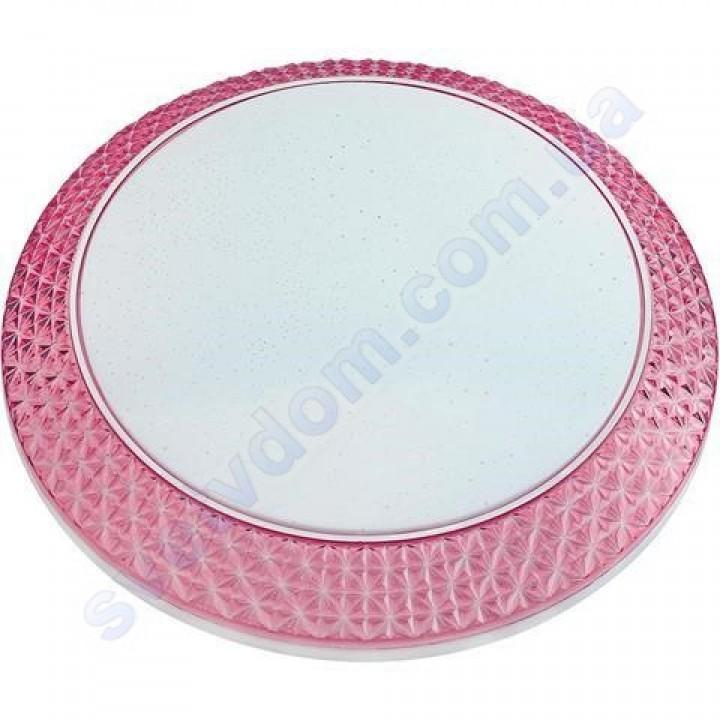 Светильник Светодиодный LED настенно-потолочный Horoz Electric PHANTOM-48 белый-голубой-розовый 6400K 48W металл 027-002-0048