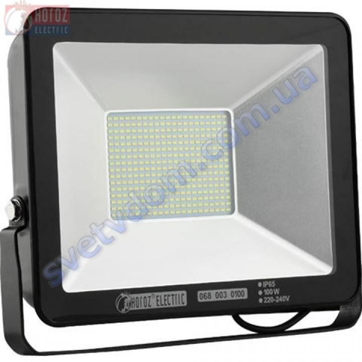 Прожектор светодиодный LED Horoz Electric PUMA-100 100W 6400K  IP65 068-003-0100