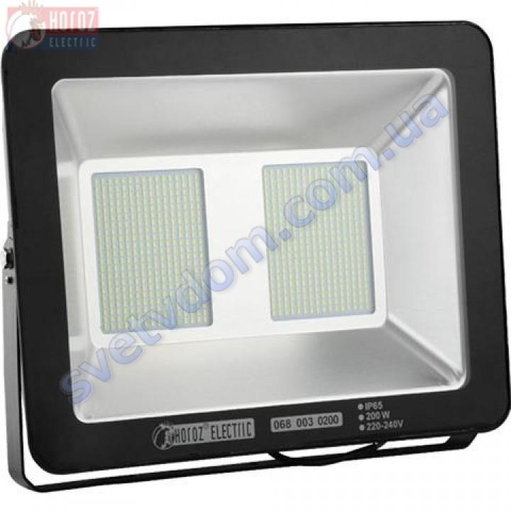 Прожектор светодиодный LED Horoz Electric PUMA-200 200W 6400K  IP65 068-003-0200
