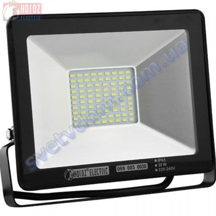 Прожектор светодиодный LED Horoz Electric PUMA-30 30W 2700K  IP65 068-003-0030-H