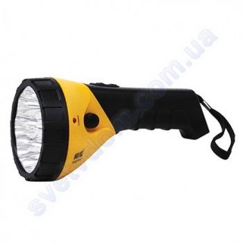 Светильник-фонарь аккумуляторный переносной светодиодный 9LED Horoz Electric PUSKAS-3 желтый или синий 084-005-0003