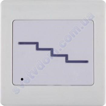 Светильник подсветка с микроволновым датчиком для лестницы светодиодный LED Horoz Electric QUARTZ 2W 4000K 079-027-0002