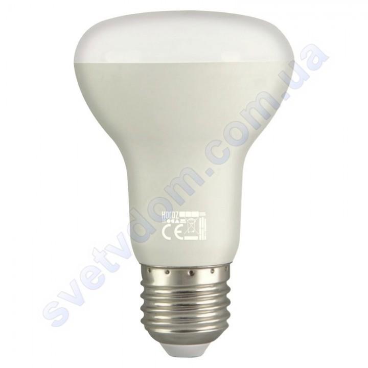 Лампа светодиодная рефлекторная Horoz Electric REFLED-10 10W (аналог 75Вт) R63 E27 001-041-0010