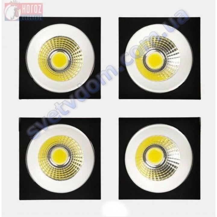 Светильник точечный светодиодный LED Horoz Electric SABRINA-32 HL6724L 4*8W 2700K 016-023-0032-H