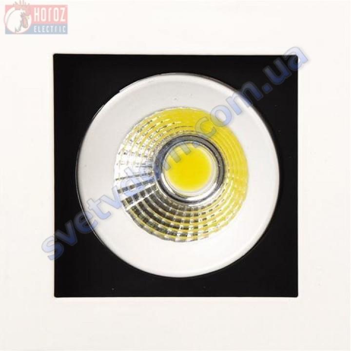Світильник точковий світлодіодний LED Horoz Electric SABRINA-8 HL6721L 8W 6400K 016-023-0008-C