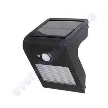Светильник уличный фасадный светодиодный на солнечной батарее LED Horoz Electric SIRIUS-1 1W 4000K IP44 078-012-0001