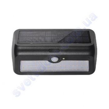 Светильник уличный фасадный светодиодный на солнечной батарее LED Horoz Electric SIRIUS-2 2W 4000K IP44 078-012-0002