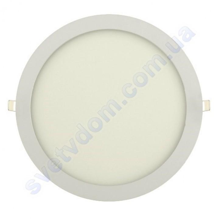 Світильник стельовий світлодіодний LED-панель Horoz Electric SLIM-24 24W 056-003-0024