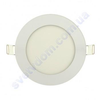 Светильник потолочный светодиодный LED-панель Horoz Electric SLIM-6 6W 056-003-0006