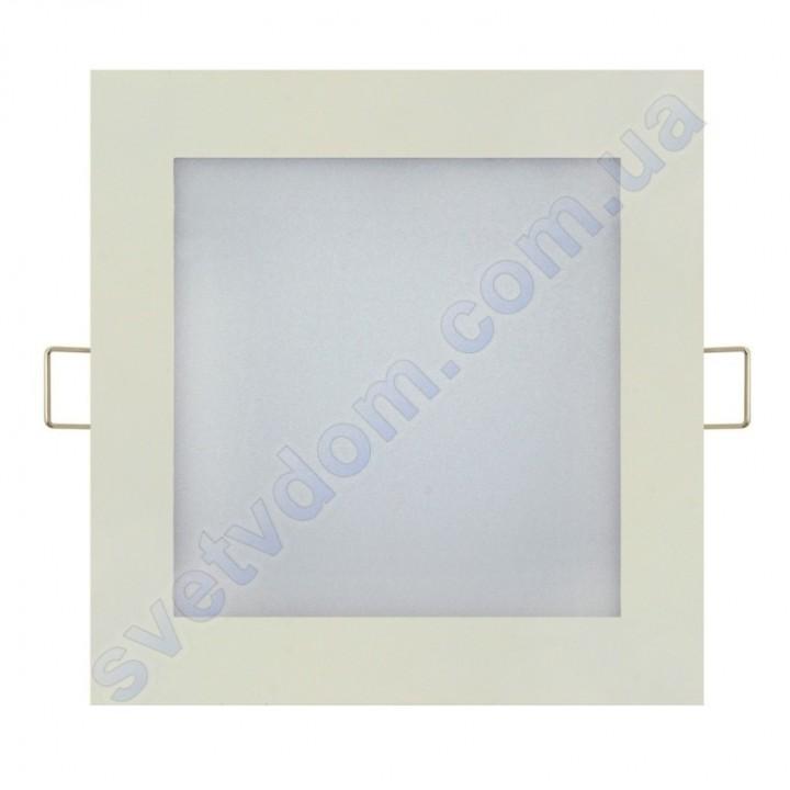 Светильник потолочный светодиодный LED-панель Horoz Electric SLIM/Sq-15 15W 056-005-0015