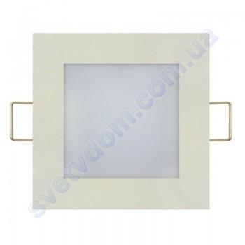 Светильник потолочный светодиодный LED-панель Horoz Electric SLIM/Sq-3 3W 056-005-0003