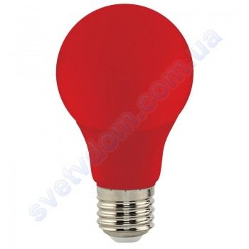 Лампа светодиодная цветная в гирлянду Horoz Electric SPECTRA 3W A55 E27 001-017-0003
