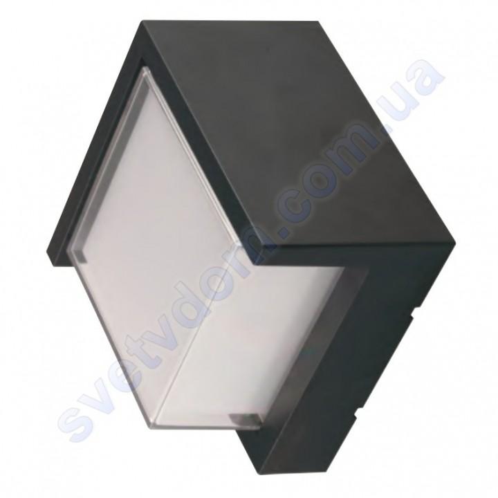 Светильник уличный садово-парковый фасадный светодиодный LED Horoz Electric SUGA-12/SC 12W 4200K IP65 076-020-0012