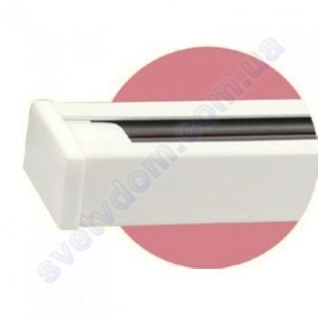 Шинопровод (трек) LIGHT TRACK SYSTEM к светильнику трековому светодиодному Horoz Electric 1метр 097-001-0001