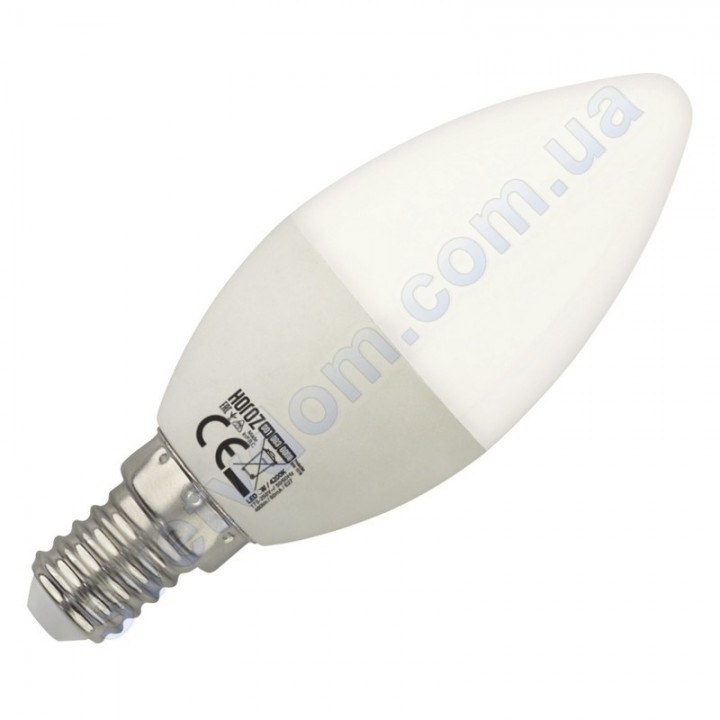 Лампа светодиодная Horoz Electric ULTRA-8 8W (аналог 65Вт) C37 E14-E27 001-003-0008