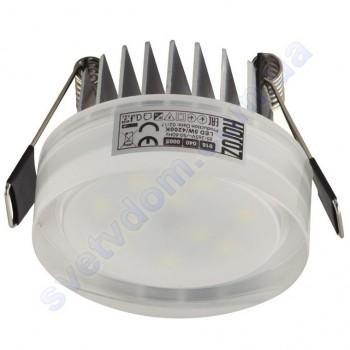 Светильник точечный светодиодный LED Horoz Electric VALERIA-5 5W 4200K белый 016-040-0005