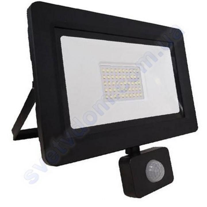 Прожектор світлодіодний LED Horoz Electric ASLAN/S-50 50W 6400K з датчиком руху IP65 068-011-0050