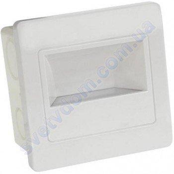Світильник підсвічування з мікрохвильовим датчиком для сходів світлодіодний LED Horoz Electric DIAMOND 2W 4200K 079-026-0002
