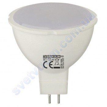 Лампа светодиодная Horoz Electric LED FONIX-4 4W (аналог 30Вт) MR16 GU5.3 001-001-0004