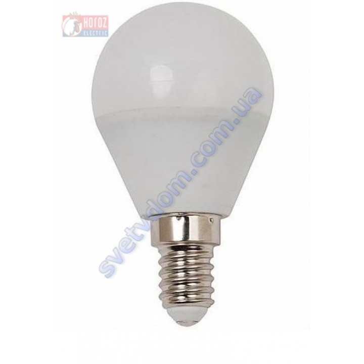 Лампа светодиодная Horoz Electric HL4380L 4W (аналог 30Вт) A45 4200K E14 001-005-0004-N-E14