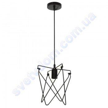 Світильник підвісний складаний Horoz Electric KEPLER E27 чорний метал 021-011-0001