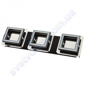 Світильник Світлодіодний LED настінно-стельовий Horoz Electric LIKYA-3 4000K 3x5W хром 036-007-0003