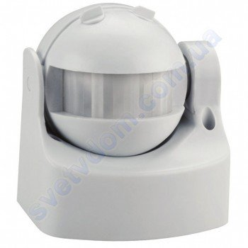 Датчик руху LINEA Horoz Electric 8м Білий-Чорний 088-001-0003