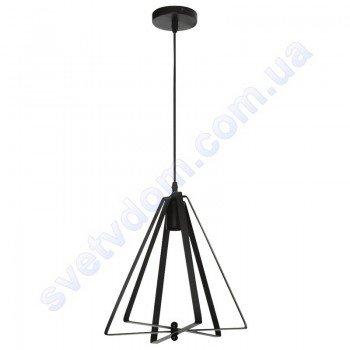 Світильник підвісний складаний Horoz Electric MAXWELL E27 чорний метал 021-012-0001