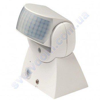Датчик руху MEGANE Horoz Electric 12м Білий 088-001-0008