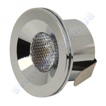 Светильник точечный светодиодный мебельный LED Horoz Electric MIRANDA 3W 016-004-0003