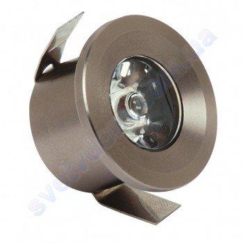 Светильник точечный светодиодный мебельный LED Horoz Electric MONICA 1W 016-003-0001