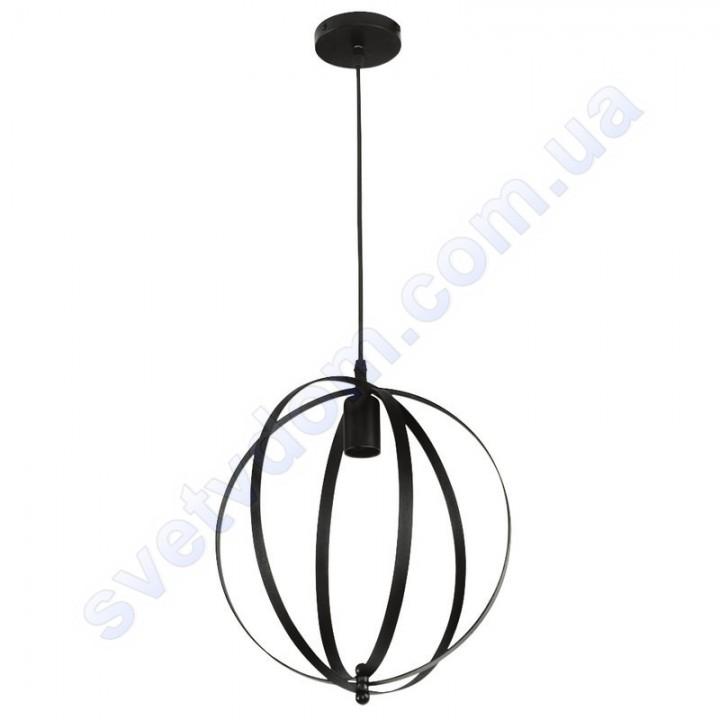 Светильник подвесной складывающийся Horoz Electric NEWTON E27 металл черный 021-010-0001