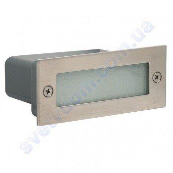 Світильник підсвічування для сходів світлодіодний LED Horoz Electric PERLE 1.2 W мат. хром 079-021-0002