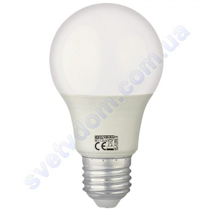 Лампа світлодіодна Horoz Electric PREMIER-10 10W (аналог 75Вт) A60 E27 001-006-0010