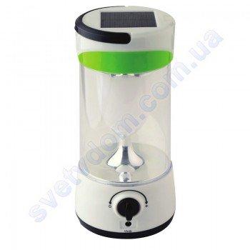 Светильник-фонарь аккумуляторный переносной светодиодный LED на солнечной батарее Horoz Electric ROMARIO 084-022-0010
