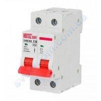 Автоматичний Вимикач Horoz Electric SAFE C16 2Р 4,5 кА 114-002-2016