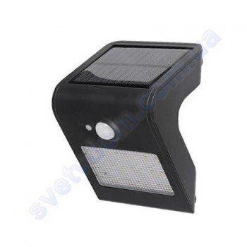 Світильник вуличний фасадний світлодіодний на сонячній батареї LED Horoz Electric SIRIUS-1 1W 4000K IP44 078-012-0001