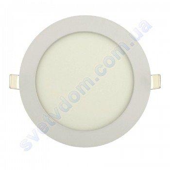 Светильник потолочный светодиодный LED-панель Horoz Electric SLIM-12 12W 056-003-0012