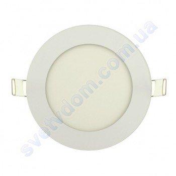 Світильник стельовий світлодіодний LED-панель Horoz Electric SLIM-6 6W 056-003-0006