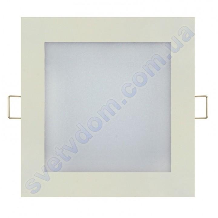 Светильник потолочный светодиодный LED-панель Horoz Electric SLIM/Sq-12 12W 056-005-0012