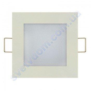 Світильник стельовий світлодіодний LED-панель Horoz Electric SLIM/Sq-3 3W 056-005-0003