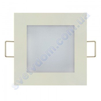 Светильник потолочный светодиодный LED-панель Horoz Electric SLIM/Sq-6 6W 056-005-0006
