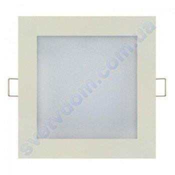 Светильник потолочный светодиодный LED-панель Horoz Electric SLIM/Sq-9 9W 056-005-0009