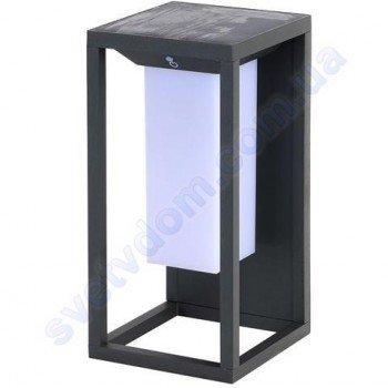 Настінний світильник вуличний світлодіодний на сонячній батареї LED Horoz Electric SOLARIS-1 2W 4000K IP65 078-014-0001