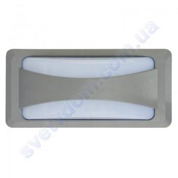 Светильник уличный садово-парковый настенный светодиодный LED Horoz Electric SUSAM 12W 4200K IP65 076-030-0012